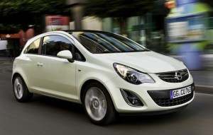 Nouvelle Opel Corsa version 2011