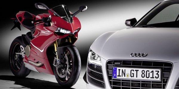 Audi rachette Ducati