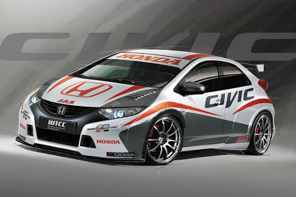FIA WTCC: Honda fait son entrée avec la nouvelle Civic