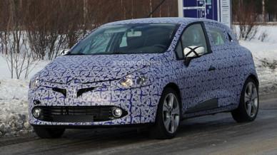 Photo espion de la nouvelle Renault Clio