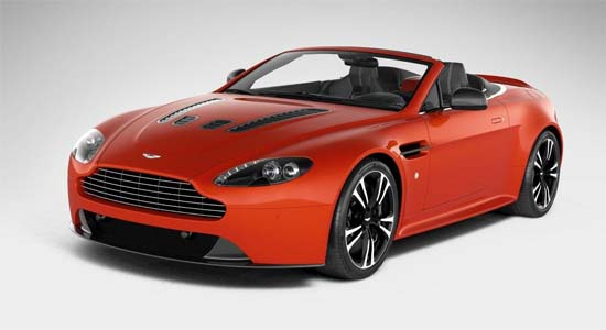 Aston Martin roadster Vantage V12