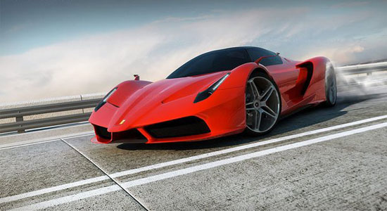 Ferrari F70 design de David Williams