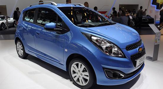 Salon Auto de Paris: La Chevrolet Spark rafraîchie