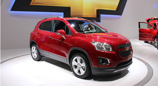Salon Auto de Paris: La Chevrolet Trax