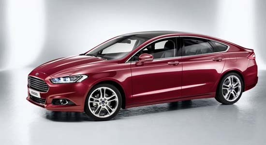 Salon Auto Paris 2012: La Mondeo 4 de Ford