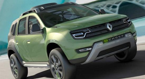 Renault dévoile un concept DCross en Brésil