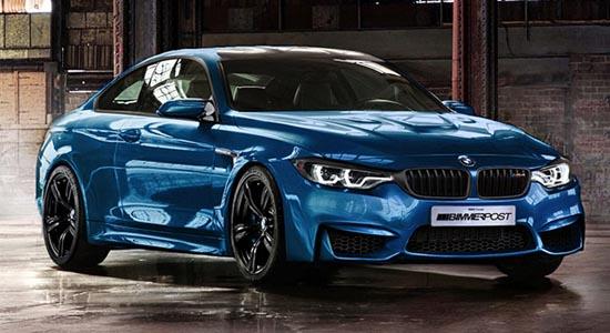Le nouveau M4 2014 de BMW apparait sur le web