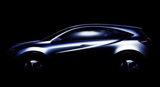 Image teasing du nouveau Crossover de Honda
