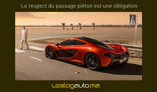 Le respect du passage piéton, une obligation