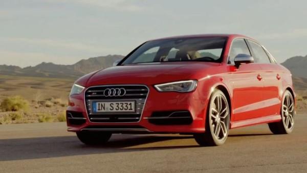 Audi a dévoilé l'A3 2014 et berlines S3