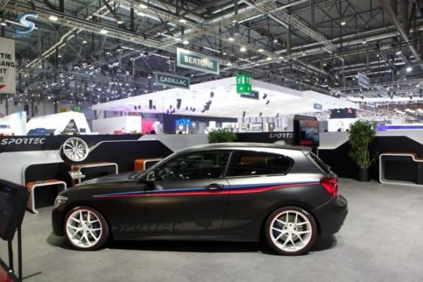 BMW M135i by Sportec races au salon de Genève 2013