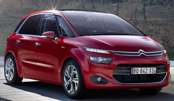 Fuite des photos du nouveau Citroën C4 Picasso