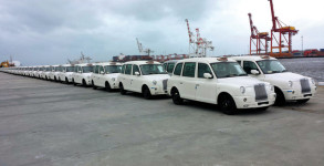 white taxis for Perth