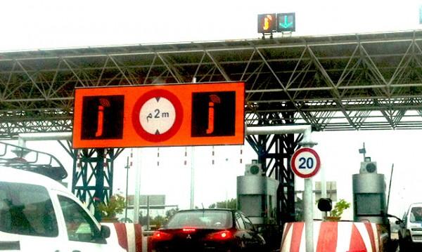 Autoroute du Maroc, une barrière péage spécial pour paiement par carte