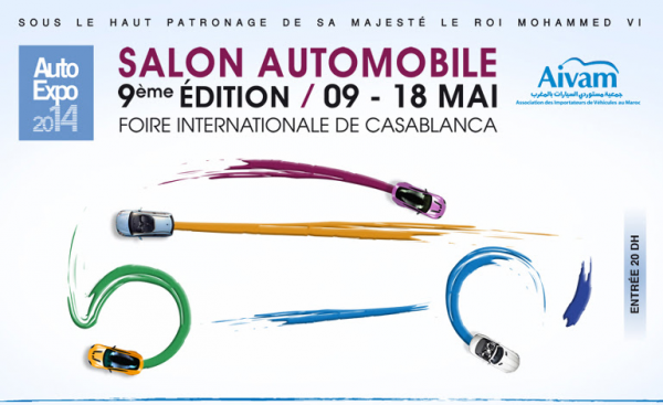 La neuvième édition de l'Auto Expo à Casablanca  du 9 au 18  mai 2014